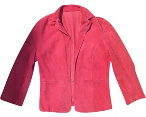 Extē Hot pink Leather Jacket
