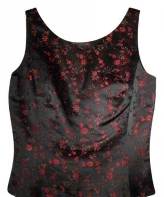 Preload https://item1.tradesy.com/images/ann-taylor-tunic-black-and-red-161330-0-0.jpg?width=400&height=650