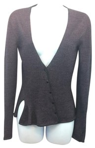 Nina Ricci Metallic Knit Cardigan