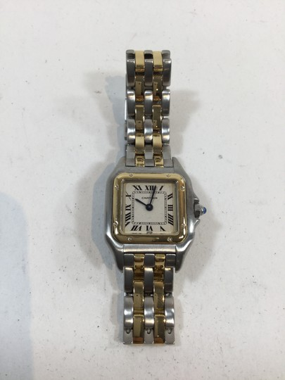 Cartier Cartier Ladies Two Tone Panther Stainless Steel Yellow Gold Watch