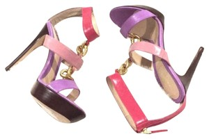 Fendi Pink purple gold Platforms