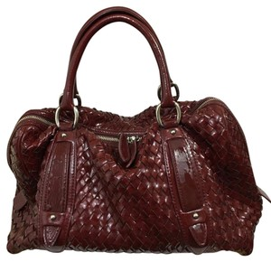 Sondra Roberts Satchel in Burgundy