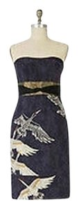 Anthropologie Midnight Migration Sheath Dress