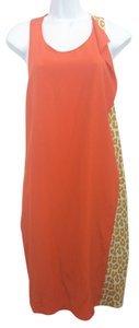 3.1 Phillip Lim short dress Orange Silk Shift on Tradesy
