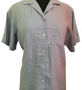 L.L.Bean Button Down Shirt Periwinkle