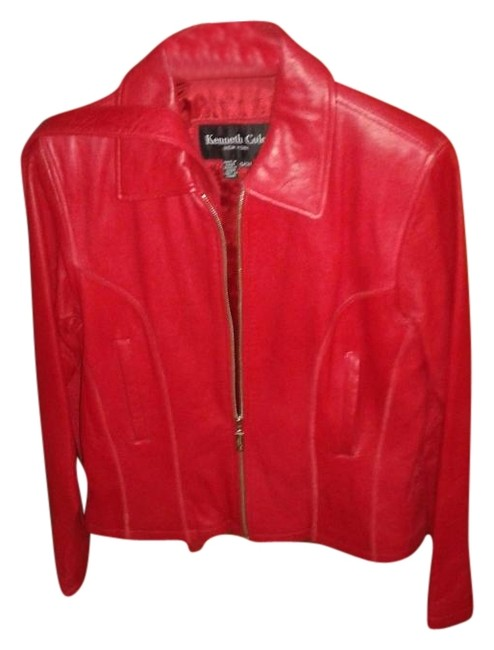 "Item - Red ""Riding Jacket Size Petite 6 (S)"