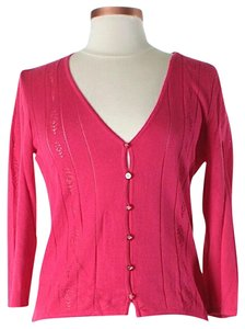 Escada Silk Cashmere V-neck Cardigan