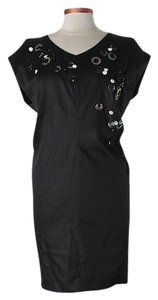 Robert Rodriguez Embellished Shift Dress