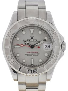 Rolex Rolex 168622 Midsize Yachtmaster Stainless Steel Platinum Watch