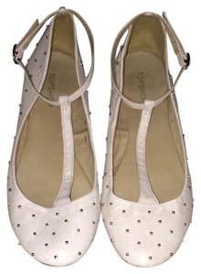 Topshop Light Pink Flats