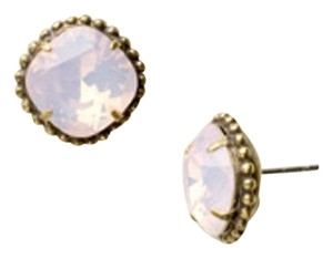 Sorrelli Authentic Sorrelli Rosewater Cushion Cut Crystal Stud Earrings! NWT