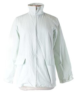 Max Mara Wind Breaker White Jacket