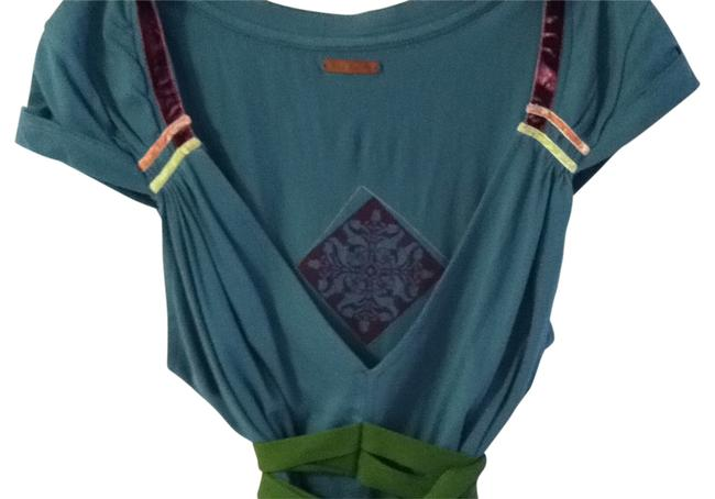 Preload https://item2.tradesy.com/images/free-people-teal-wgreen-belt-and-print-tunic-size-4-s-161366-0-0.jpg?width=400&height=650