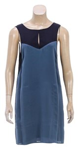 A.L.C. short dress Navy/Teal on Tradesy