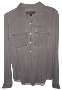 Nordstrom Button Down Shirt Grey