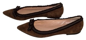 Marc Jacobs brown / black Flats