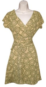 Giggle Organics short dress Green Wrap Organic Vegetable Dye on Tradesy