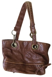 Braciano Western Brass Links & Rings Hobo Bag