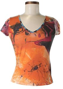 Just Cavalli Artsy T Shirt