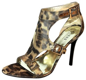 Guess By Marciano Gladiator Leopard Sandals