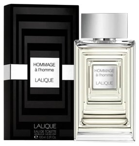 Lalique LALIQUE HOMMAGE A L'HOMME EDT Spray for Men ~ 3.4 oz / 100 ml