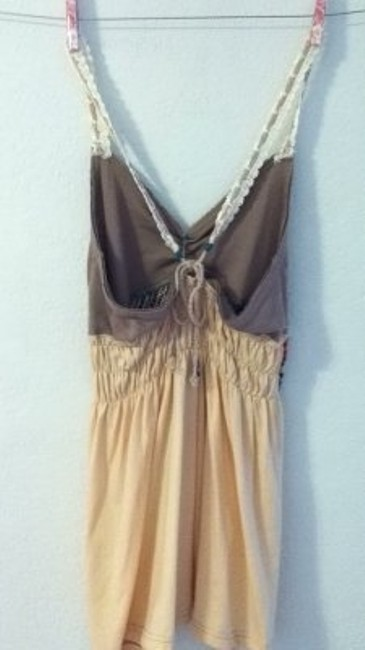 Free People Top beige/off white
