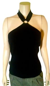 New York & Company black Halter Top