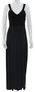Black and Blue Maxi Dress by Rebecca Taylor Maxi