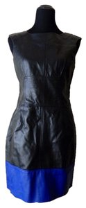 2b bebe Black Patent Leather Dress