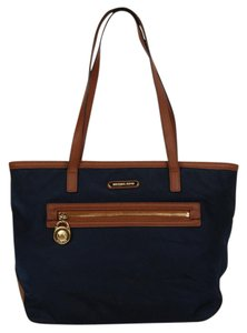 Michael Kors Nylon Blue Tote in Navy