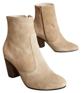 Anthropologie Taupe Boots