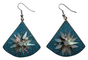 Unknown Abalone Shell inlay earrings