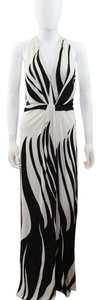 Black and White Maxi Dress by ISSA London