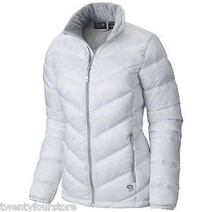 Mountain Hardwear Womens Ratio Down 650 Fill In White Jacket