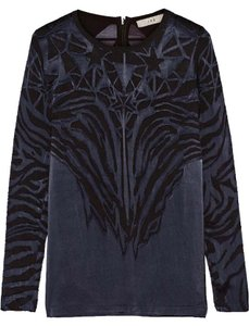 IRO Dvf Tory Burch Isabel Marant Zimmermann Helmut Lang Top Blue
