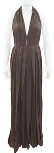 Brown Maxi Dress by Marc Jacobs Halter