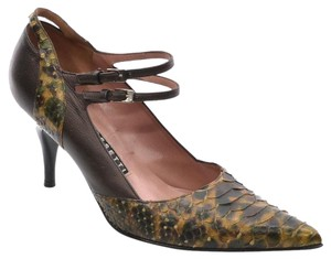 Fratelli Rossetti Mary Jane Heels Brown Pumps