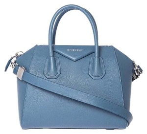 Givenchy Tote in Teal Blue