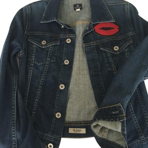 AG Adriano Goldschmied Blue Denim Womens Jean Jacket