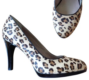 Franco Sarto Hair NEW leopard cheetah animal print Pumps