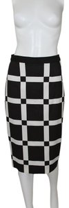 Halogen Pencil Skirt Black and White