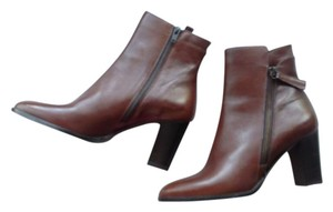 Sesto Meucci Ankle Leather brown Boots