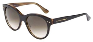 David Yurman DAVID YURMAN DY099 Grey/Honey Tortoise Sunglasses
