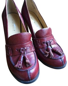 Nine West Oxford Burgundy Pumps