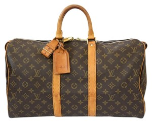 Louis Vuitton Travel Weekend Vintage Monogram Travel Bag