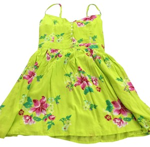 Hollister short dress Green on Tradesy