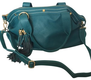 Cuore & Pelle Satchel in Teal