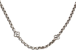 Konstantino Six Floral Station Sterling Silver Necklace