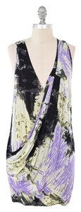 Tracy Reese short dress Multi-color Slinky Draped Jersey on Tradesy