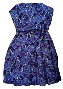 Tracy Reese short dress Floral Summer Strapless on Tradesy